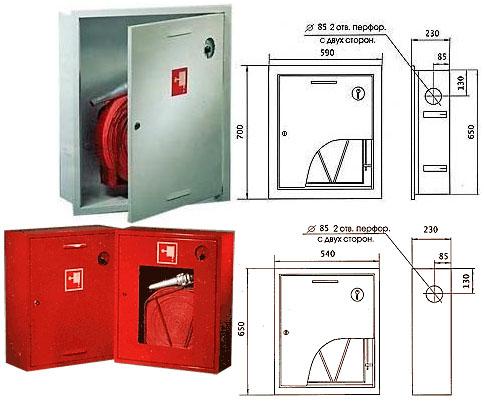 Шкафы пожарные ШПК-310